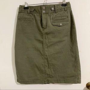 Columbia X.C.0 hiking khaki midi skirt